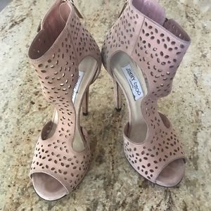 Jimmy Choo shoes size 6 heeled open toe